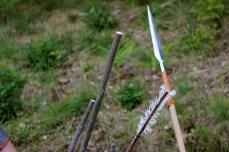 Obradoiro de frechas no Castro Animado / foto HdG