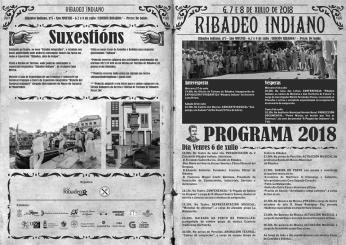 Programa do Ribadeo Indiano / foto Concello de Ribadeo