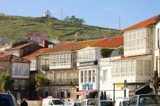 Así é a praza Ramón Juega único espazo conservado da antiga vila / foto HdG