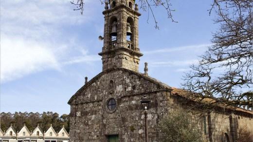 Descubren pinturas murais do século XVI na Igrexa de San Martiño de Rodís de Cerceda