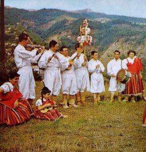 Danza folklorica tribu Isla Formosa