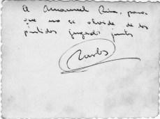 1960 Carlos Casares dedicada b Decembro 1960