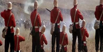 """Escena de una batalla en """"Amanecer Zulú"""""""