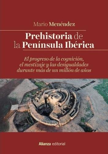 """Portada del libro """"Prehistoria de la Península Ibérica"""" de Mario Menéndez"""