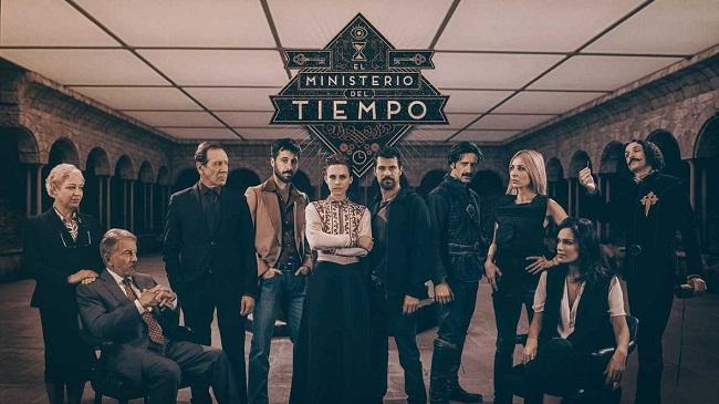 """Cartel de la segunda temporada de """"El Ministerio del Tiempo"""""""