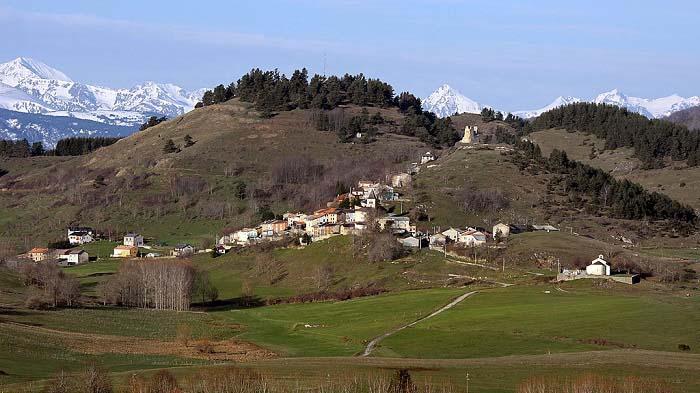 Estado actual de la aldea occitana de Montaillou, último foco de resistencia de los cátaros