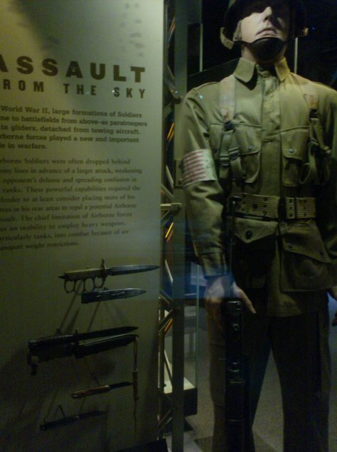 Assault From The Sky An American Airborne Trooper Uniform