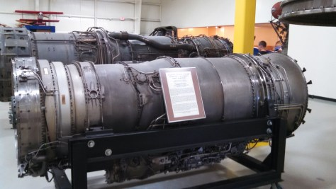 An f-14 Tomcat Engine