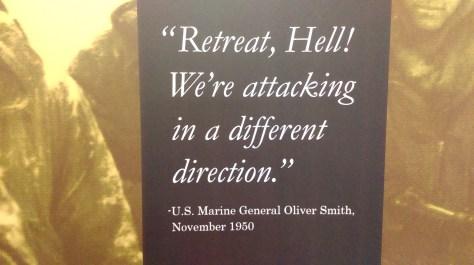 """Retreat, Hell!"""