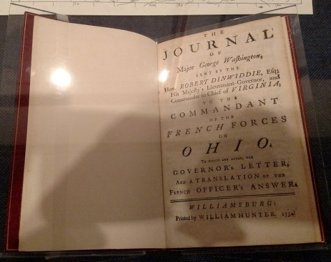 The Journal of Major Washington