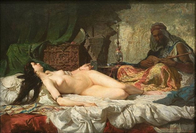 The Odalisque by Maria Fortuny