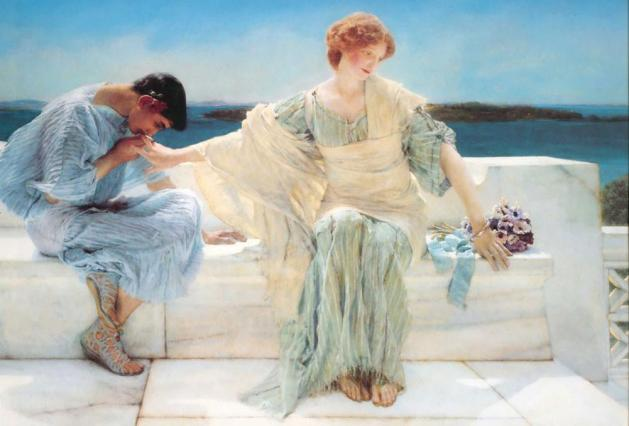 Ask me no more - Sir Lawrence Alma Tadema