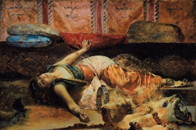 Theodora by Edouard Frederic Wilhelm Richter