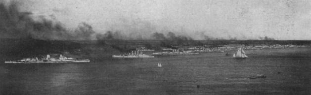 Die Hochseeflotte in Kiel