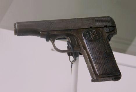 Gavrilo Princips Pistole FN Model 1910