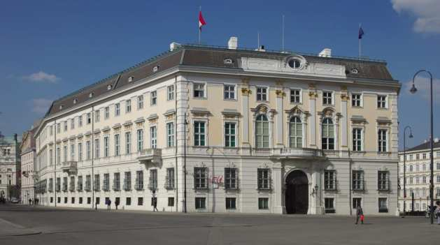 Österreichisches Außenministerium am Ballhausplatz