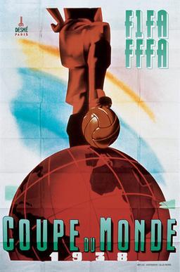 Cartaz da Copa de 1938