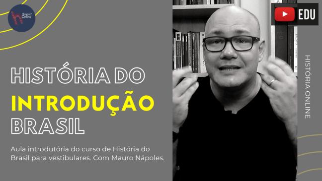 história do brasil para vestibulares