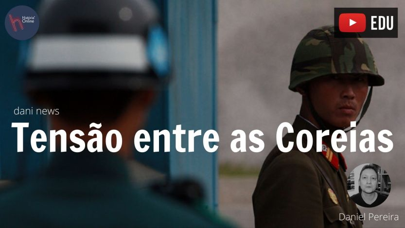 tensão entre as coreias