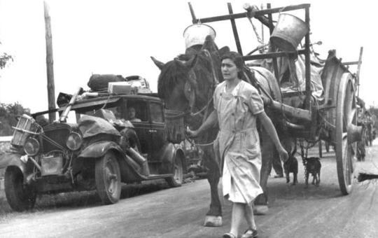 Esodo francese del 1940 – Racconti