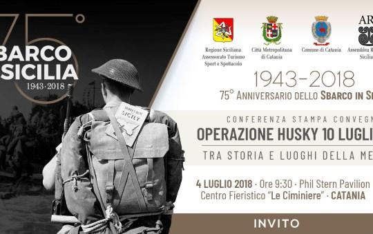 Operazione Husky: Conferenza Catania 4 luglio 2018
