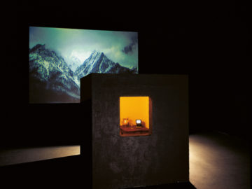 Bill Viola -Room for St John of the Cross