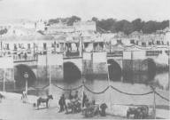 Tavira durante a visita do Rei D. Carlos (1897)