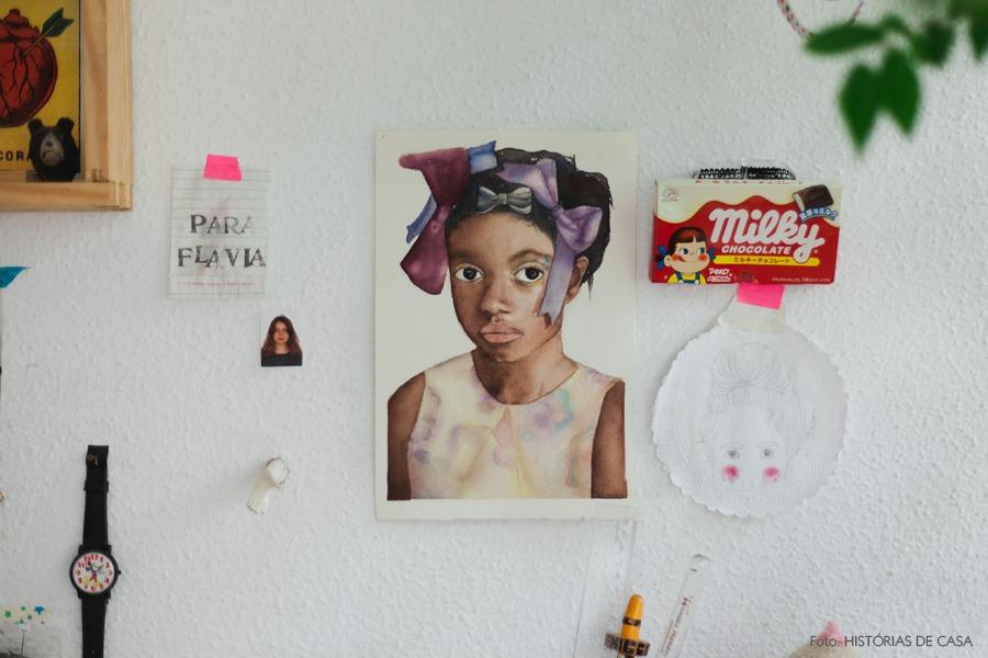 29-decoracao-gravura-aquarela-parede