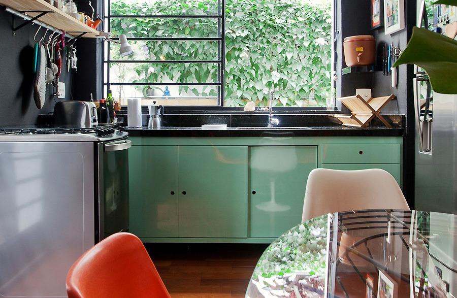 Resultado de imagem para decoração verde agua cozinha