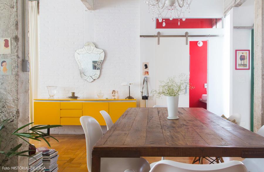 01-decoracao-sala-estar-integrada-tijolinho-branco-amarelo