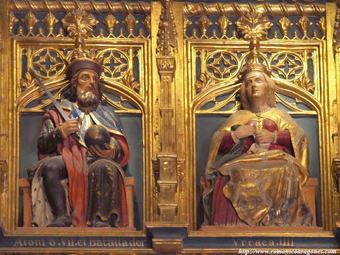 Alfonso I y Urraca