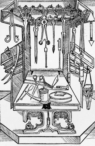 Quirófano medieval