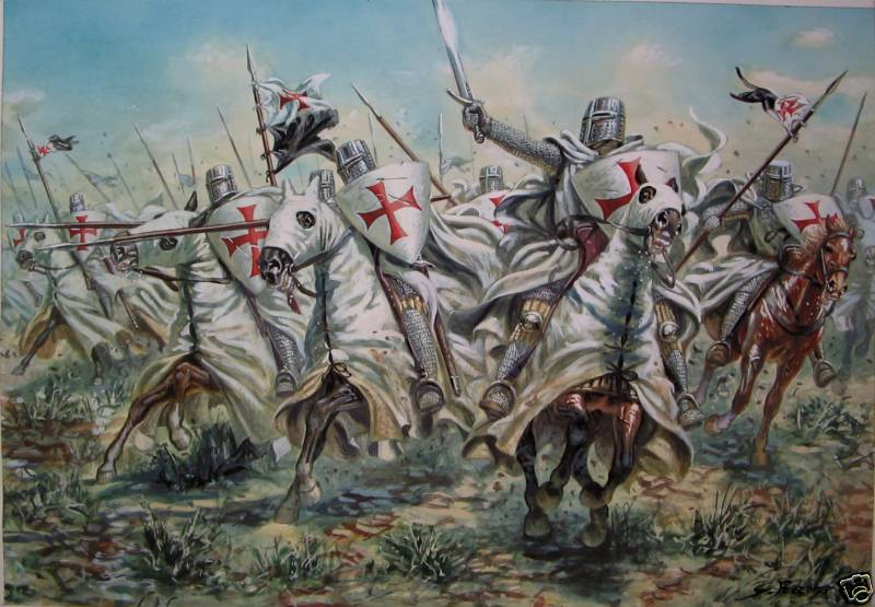 ¿Cómo se transportaban los cadáveres de los cruzados?