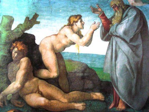Creación de Eva (Miguel Ángel)