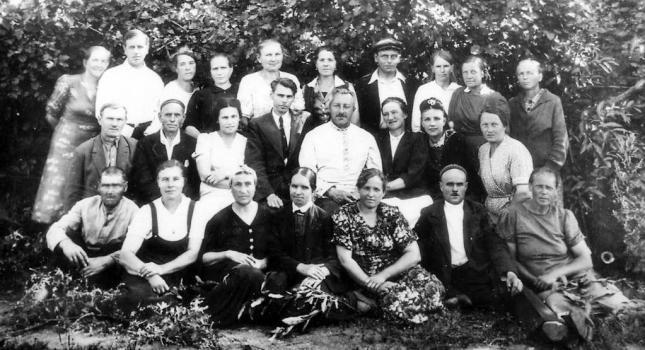 Trabajadores zoo. 1945