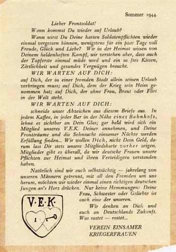 Carta Liga Mujeres Solitarias
