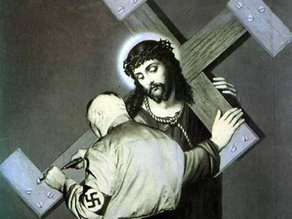 La cruz no pesaba lo suficiente