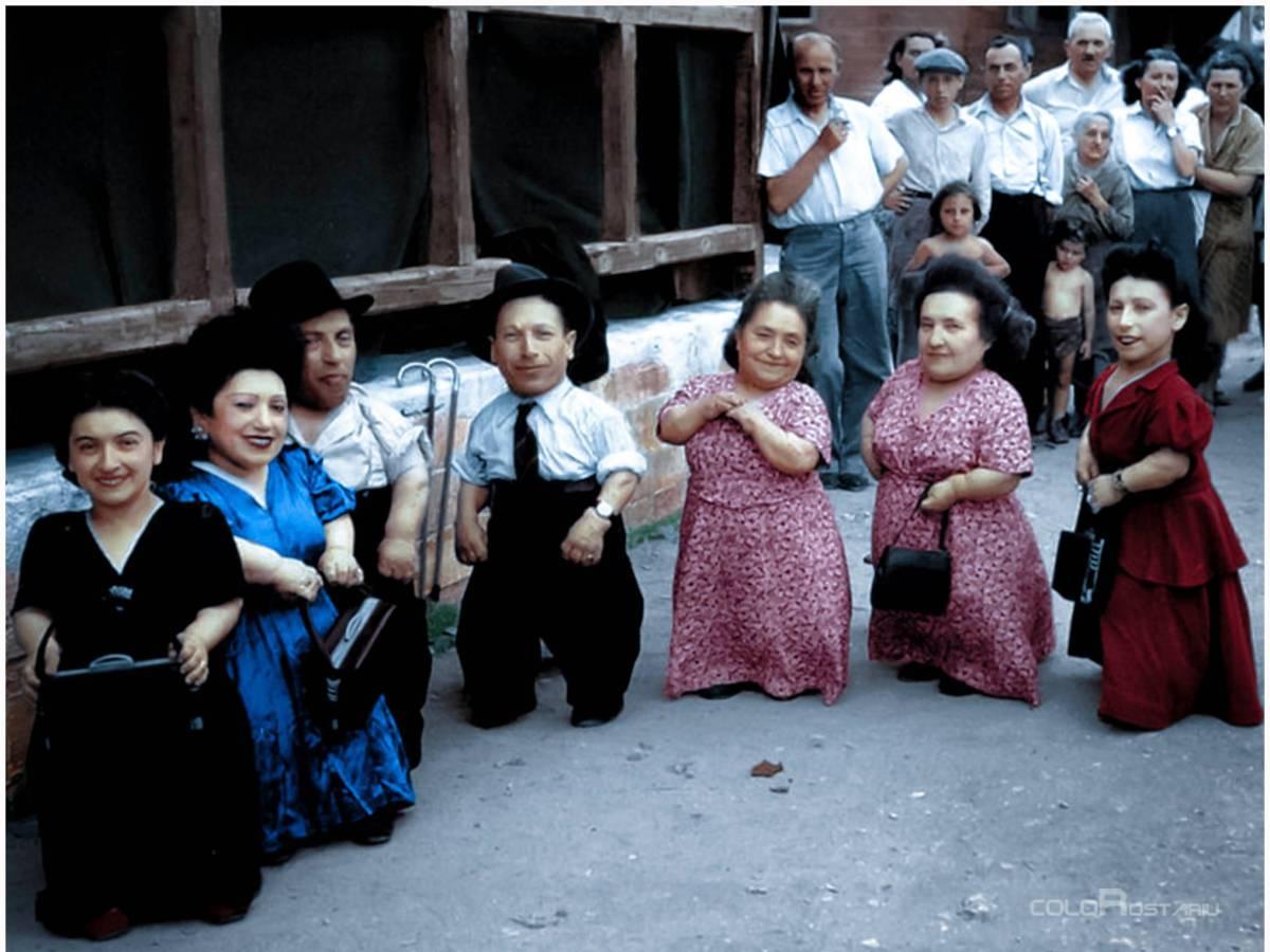 El diablo salvó a una familia de enanos en Auschwitz