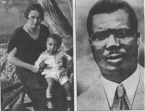 Hans Massaquoi y sus padres