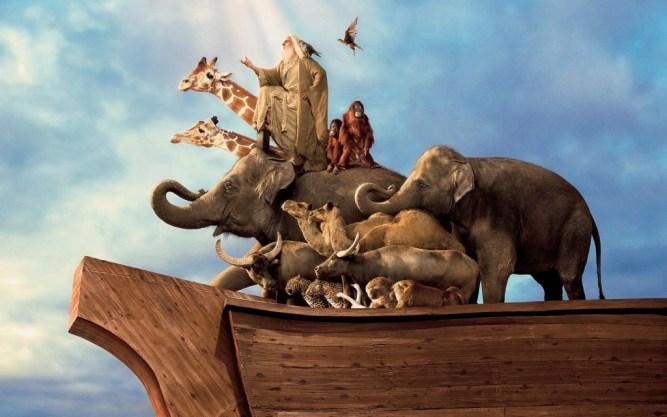 Resultado de imagen de Arca de Noé diluvio