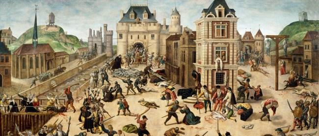 Matanza de San Bartolomé (1572) -François Dubois