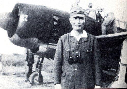 Ugaki antes de partir en su última misión