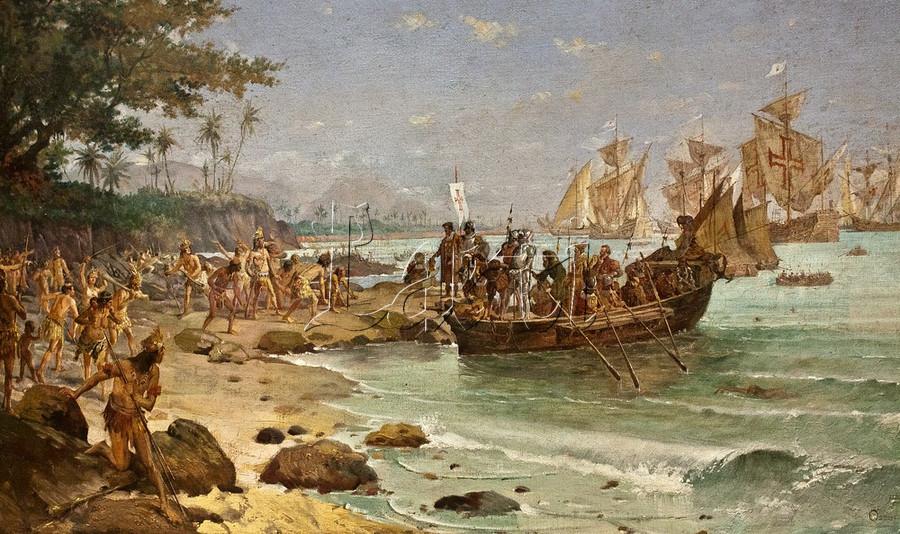 El funesto cometa que se cruzó con la expedición de Álvares Cabral