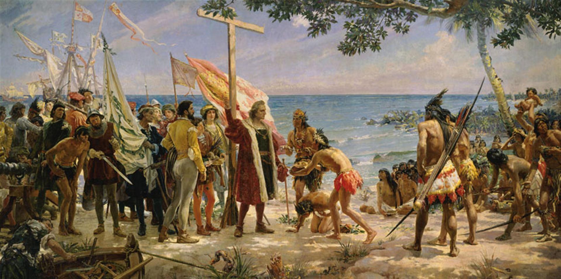 Por qué se acusa a los españoles de haber cometido genocidio en el  continente americano? - Historias de la Historia