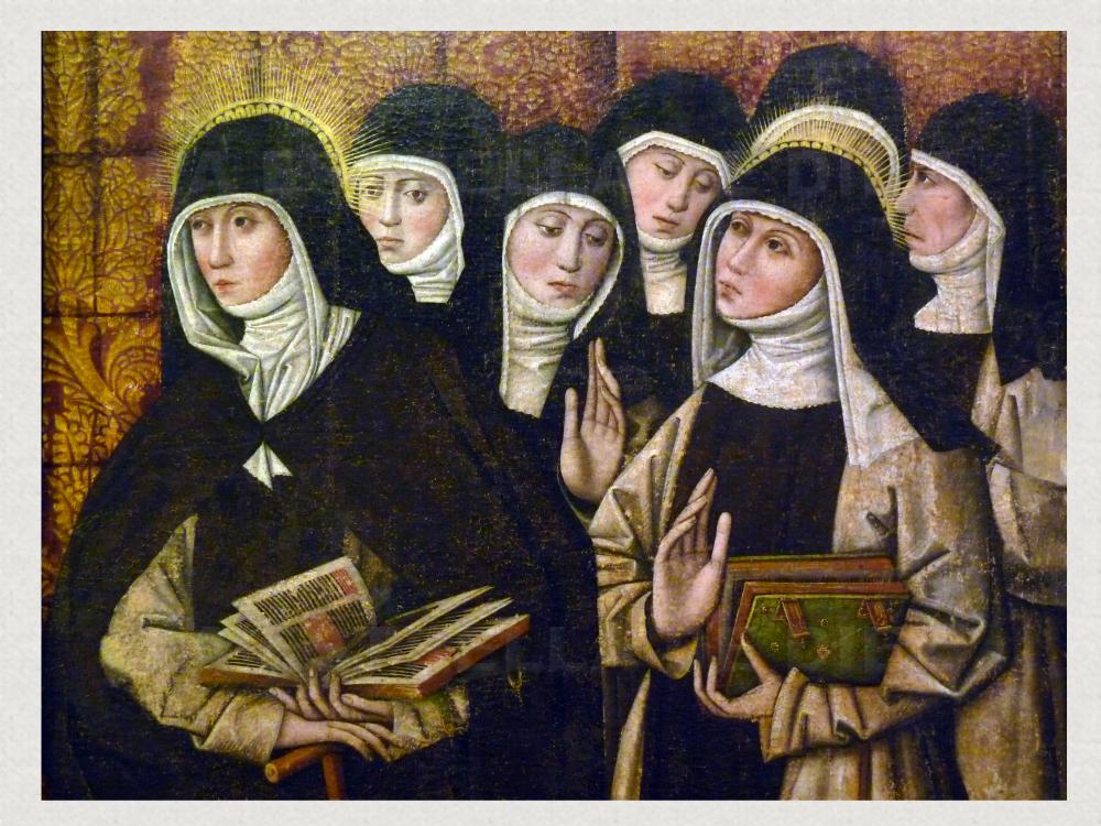 monjas siglo XVI