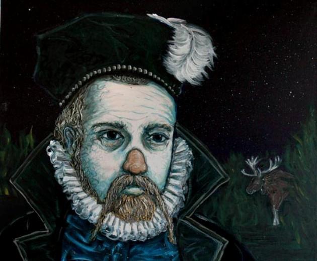 El astrónomo Tycho Brahe, el enano Jepp y el alce borracho
