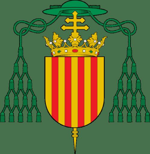 Escudo de Sancho de Aragón (arzobispo de Toledo)