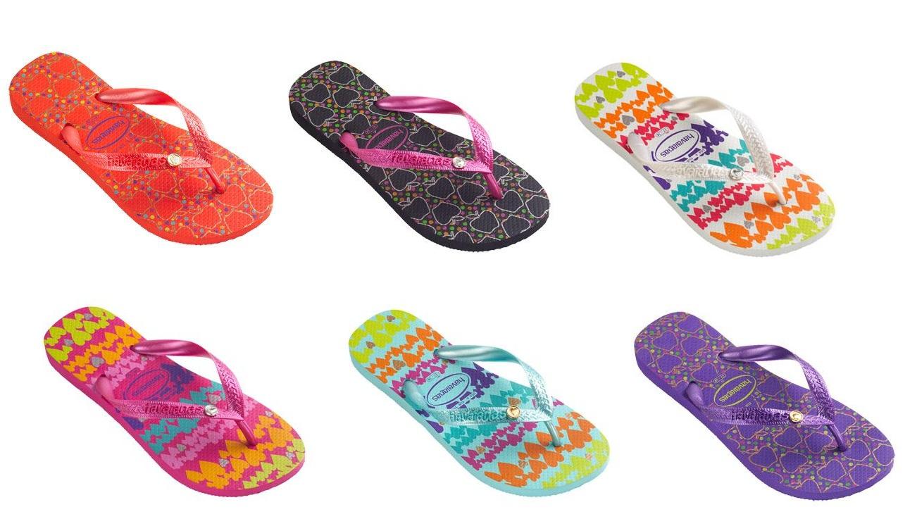 La primer Havaiana se creó en 1962 en Brasil inspirada en las Zori, que era un calzado japonés fabricados con granos de arroz compacto en la suela y tenía