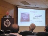 Vicente Miralles Mora (hijo del titular del museo) en su presentación