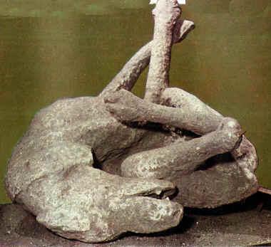 Resultado de imagen de pompeya volcan gente
